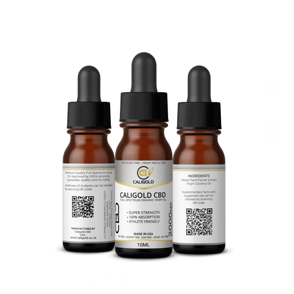 10ml CBD oil 2000mg strength